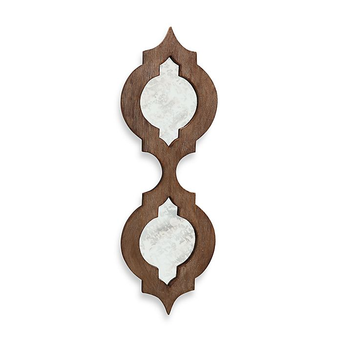 Alternate image 1 for Quadrafoil Wood Wall Mirror