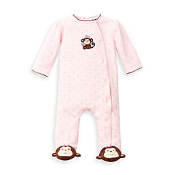 Little Me® Pretty Monkey Footie