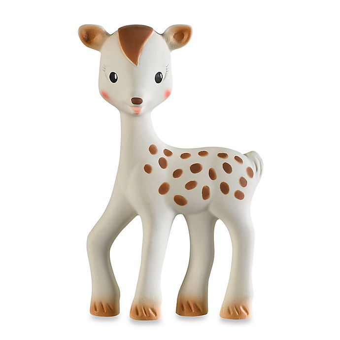 Alternate image 1 for Sophie la Girafe® Fanfan the Fawn Soft Rubber Teether Toy