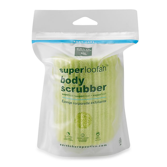 Alternate image 1 for Super Loofah Body Scrubber