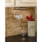 Rev-A-Shelf - 3150-11ORB - 11 in. Oil Rubbed Bronze Under Cabinet Wine Glass Holder