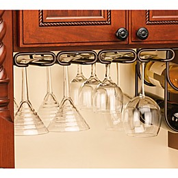 Rev-A-Shelf® 11-Inch Quad Under Cabinet Stemware Holder