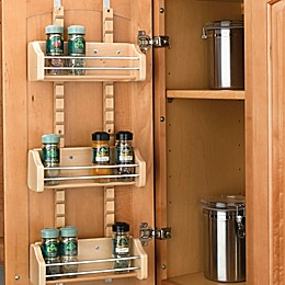 Rev-A-Shelf® Adjustable Door Mount Spice Rack