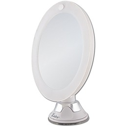 Zadro® 10x Cordless LED Lighted Wall Mount Mirror
