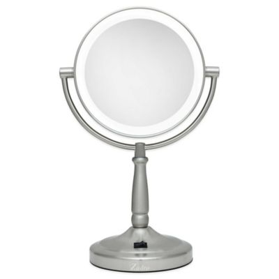 Zadro 174 10x 1x Cordless Led Lighted Vanity Mirror Bed