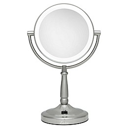 Zadro® 10x/1x Cordless LED Lighted Vanity Mirror