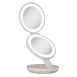 Zadro® 1x/10x LED Lighted Travel Mirror