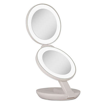 Zadro™ 1x/10x LED Lighted Travel Mirror