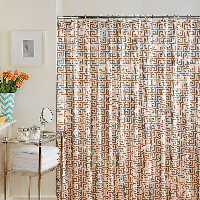 Alternate image 1 for Jill Rosenwald Jill's Key Shower Curtain