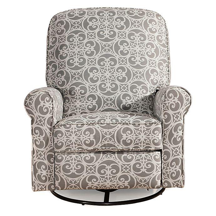 Alternate image 1 for Pulaski Glider Recliner Comfort Chair in Doodles Ash