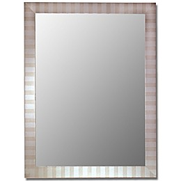 Hitchcock-Butterfield Decorative Wall Mirror in Parma Silver