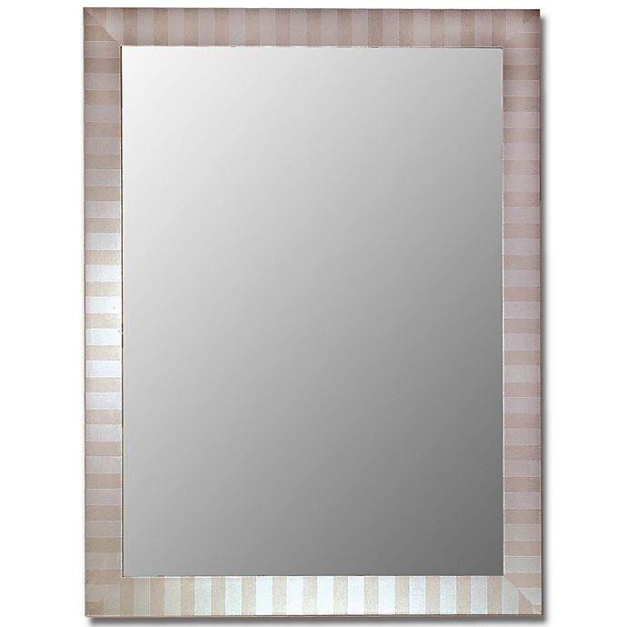 Alternate image 1 for Hitchcock-Butterfield 27-Inch x 37-Inch Decorative Wall Mirror in Parma Silver