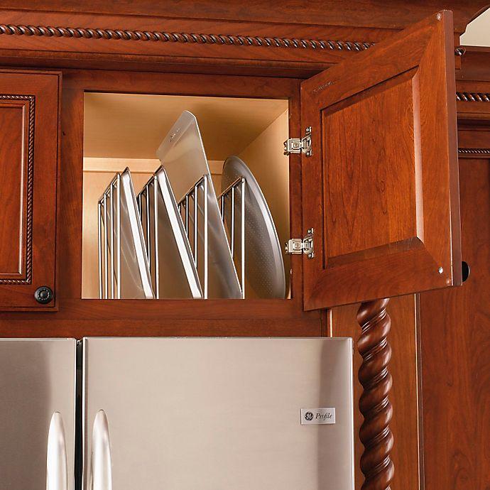 Rev A Shelf 596 10cr 52 Single U Shape Chrome Bakeware And Tray Divider Bed Bath Beyond