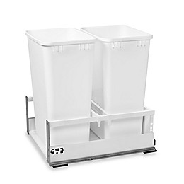 Rev-A-Shelf® 18-Inch Double Tandem Pull-Out Waste Containers