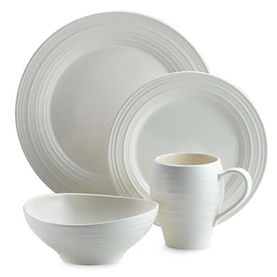 Mikasa® Swirl Dinnerware Collection in White