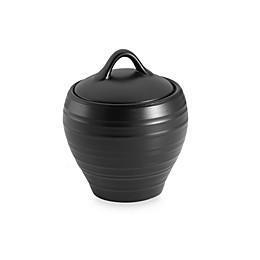 Mikasa® Swirl Covered Sugar Bowl in Black