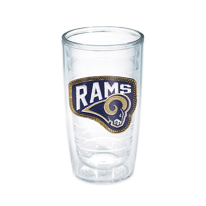 Alternate image 1 for Tervis® NFL Los Angeles Rams Sequin 16 oz. Tumbler