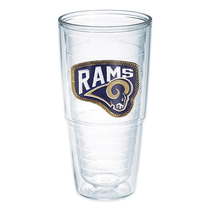 Alternate image 1 for Tervis® NFL Los Angeles Rams Sequin 24 oz. Tumbler