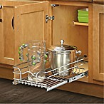 Rev-A-Shelf - 5WB1-1218-CR - 12 in. W x 18 in. D Base Cabinet Pull-Out Chrome Wire Basket