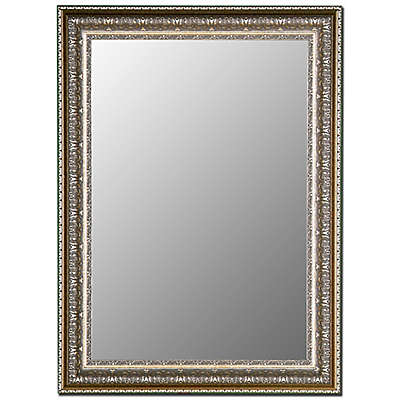 Hitchcock-Butterfield Decorative Wall Mirror in Venetian Washed Silver
