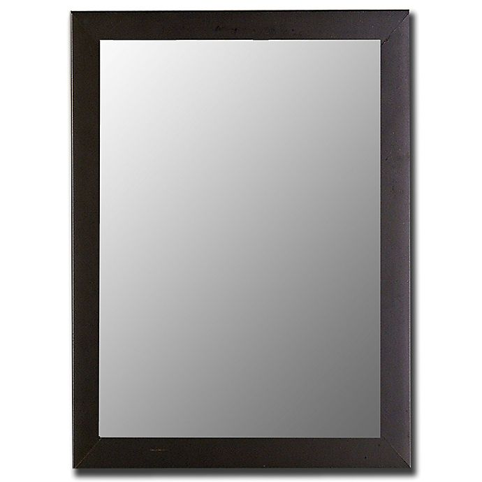 Alternate image 1 for Hitchcock-Butterfield Decorative Wall Mirror in Satin Black