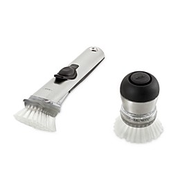 OXO SteeL™ Soap Squirting Dish Brushes