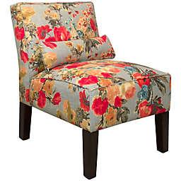 Skyline Furniture Armless Chair in Garden Odyssey Fog