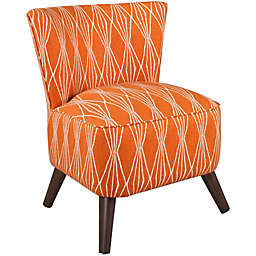 Skyline Furniture Contemporary Chair in Handcut Shapes