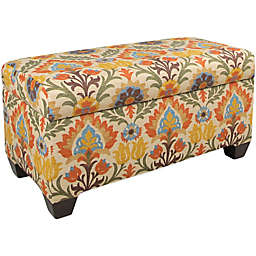 Skyline Furniture Storage Bench in Santa Maria Adobe