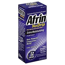 Afrin® No Drip 0.5 oz Extra Moisturizing Nasal Pump Mist Spray