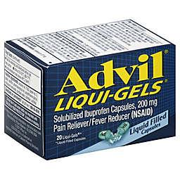 Advil® Liqui-Gels® 20-Count 200 mg Pain Reliever/Fever Reducer Liqui-Gels