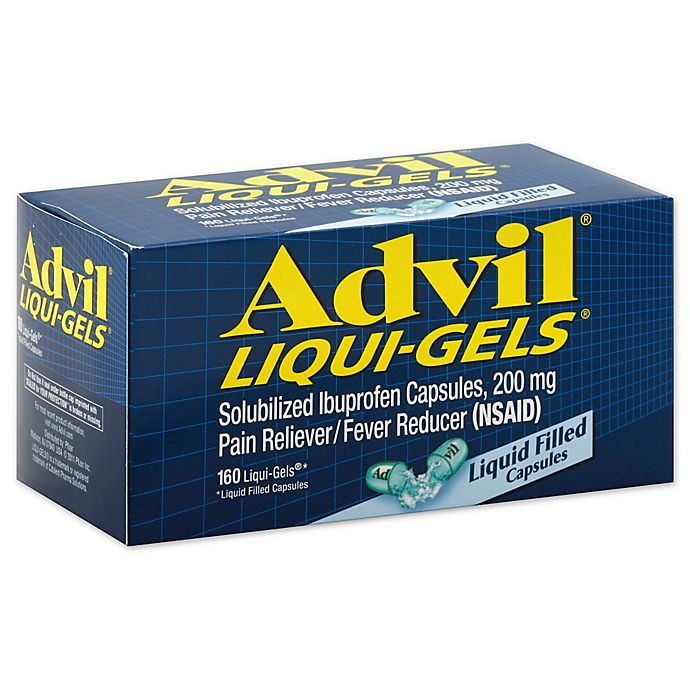 Alternate image 1 for Advil 160-Count 200 mg Liqui-Gel