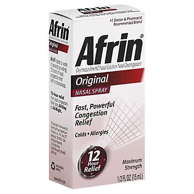 Afrin® Original 12 Hour Relief .5 oz. Nasal Spray