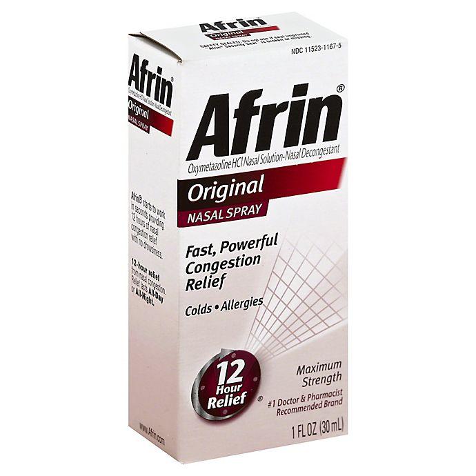 Alternate image 1 for Afrin® Original 12 Hour Relief 1 oz. Nasal Spray