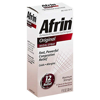 Afrin® Original 12 Hour Relief 1 oz. Nasal Spray