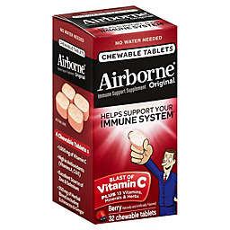 Airborne 32-Count Chewable Tablets in Berry