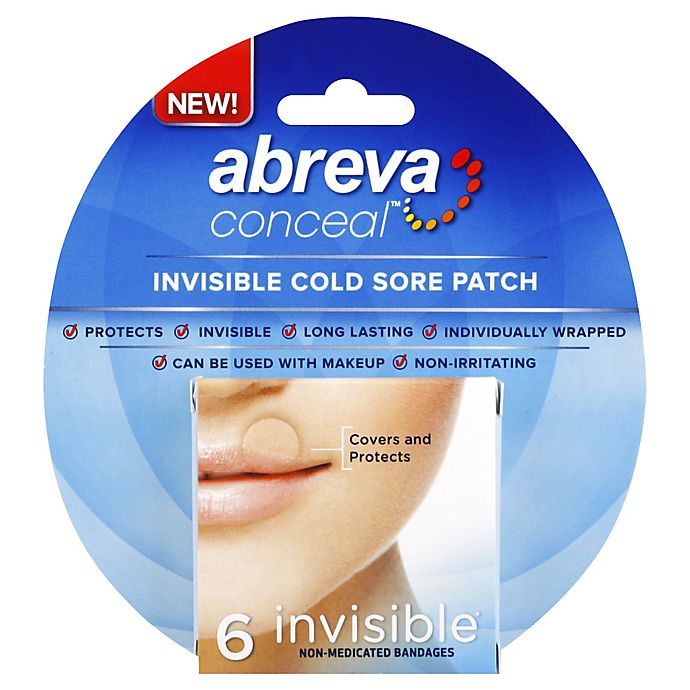 Abreva Conceal 6 Count Invisible Cold Sore Patch Bed Bath Beyond