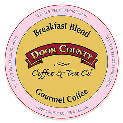 12-Count Door County Coffee & Tea Co.® Breakfast Blend for Single Serve Coffee Makers