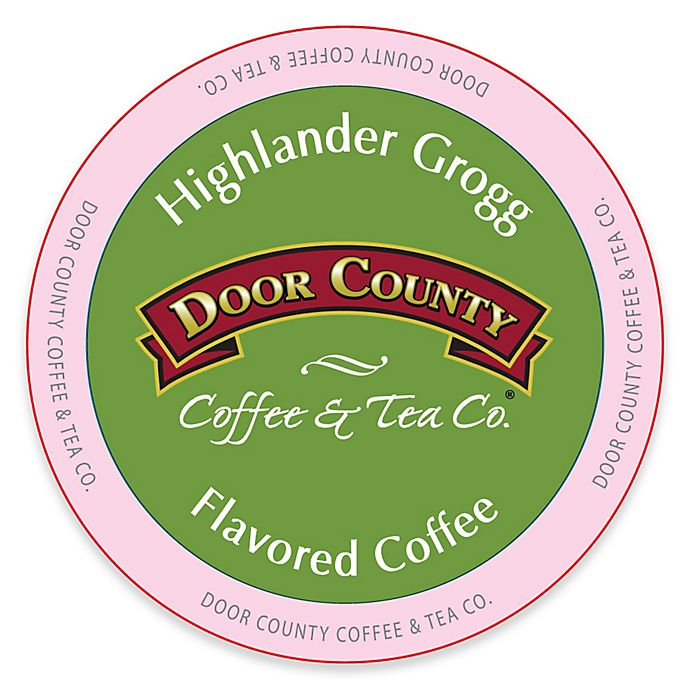 Alternate image 1 for 12-Count Door County Coffee & Tea Co.® Highlander Grogg for Single Serve Coffee Makers