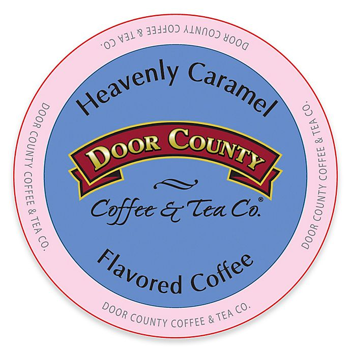 Alternate image 1 for 12-Count Door County Coffee & Tea Co.® Heavenly Caramel for Single Serve Coffee Makers