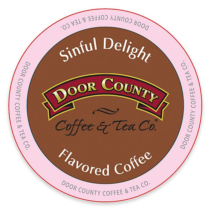 Alternate image 1 for 12-Count Door County Coffee & Tea Co.® Sinful Delight for Single Serve Coffee Makers