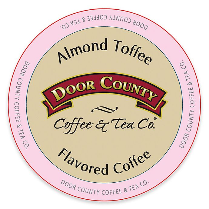 Alternate image 1 for 12-Count Door County Coffee & Tea Co.® Almond Toffee for Single Serve Coffee Makers