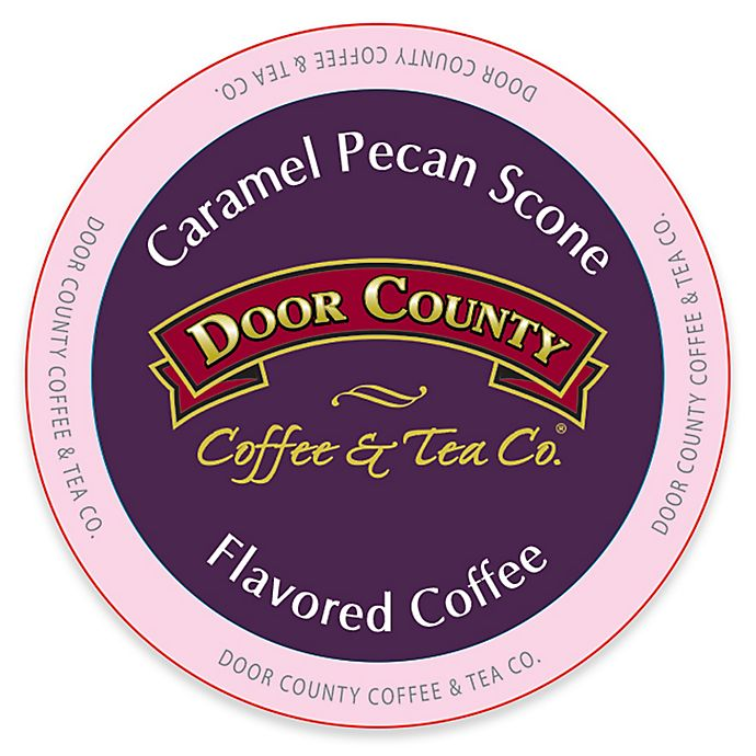Alternate image 1 for 12-Count Door County Coffee & Tea Co.® Caramel Pecan Scone for Single Serve Coffee Makers