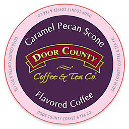 12-Count Door County Coffee & Tea Co.® Caramel Pecan Scone for Single Serve Coffee Makers
