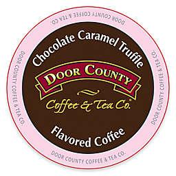 12-Count Door County Coffee & Tea Co. Chocolate Caramel Truffle for Single Serve Coffee Makers
