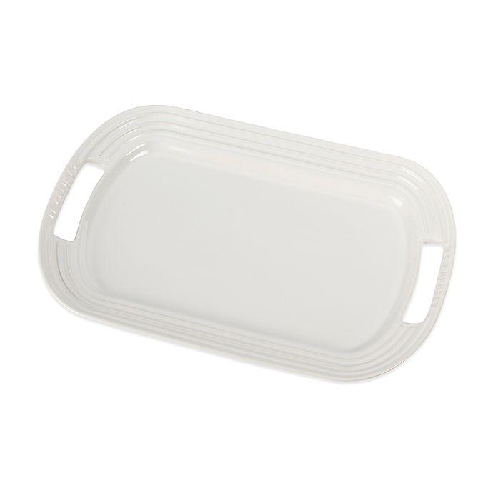Alternate image 1 for Le Creuset® 16.25-Inch Rectangular Platter in White