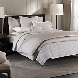 Barbara Barry® Moondrops Pique Duvet Cover in Dove