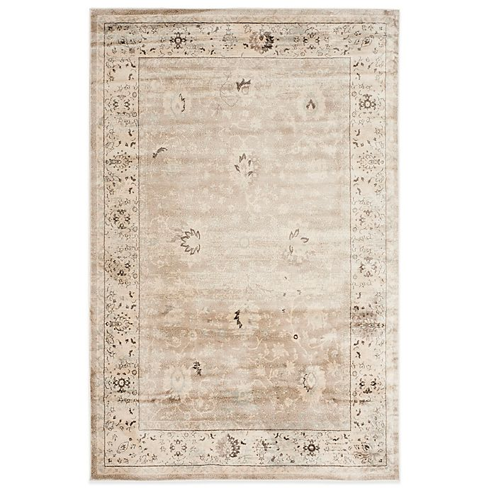 Alternate image 1 for Safavieh Vintage Collection Mercedes Floral Rugs