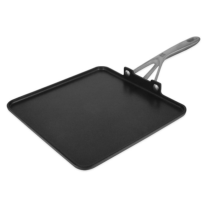 Alternate image 1 for Zwilling® J.A. Henckels Motion Nonstick 11-Inch Hard-Anodized Square Griddle in Grey