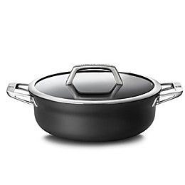 Zwilling® J.A. Henckels Motion Nonstick 4 qt. Hard-Anodized Covered Chef Pan in Grey